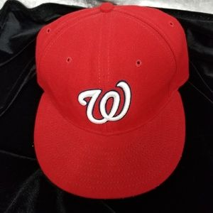 "Washington Nationals New Era 59Fifty ""W"" Hat Cap"